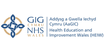 Health Education & Improvement Wales logo