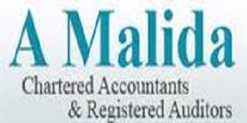 Arif Malida Chartered Accountants logo